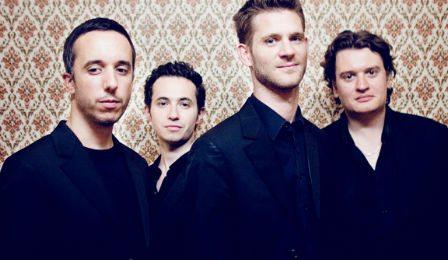 Quatuor Ebene String Quartet Mathieu Herzog leaving