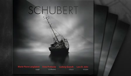 Schubert Lara St John Marie-Pierre Langlamet CD Giveaway Cover