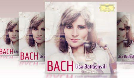Lisa Batiashvili Bach Violin Channel Giveaway Cover