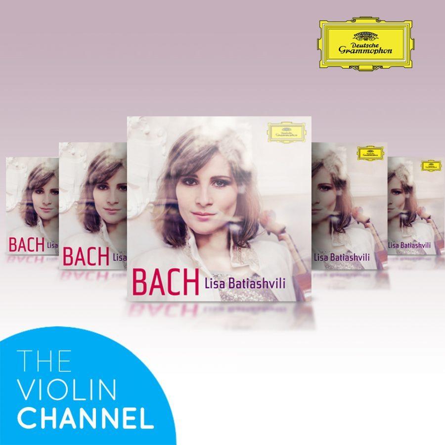 Lisa Batiashvili Bach CD Giveaway The Violin Channel