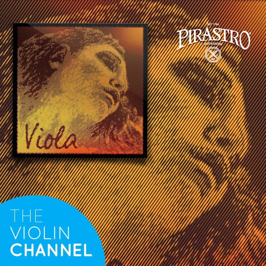Evah Pirazzi Gold Viola String Set Giveaway