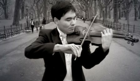 Eric Silberger Paganini 24 Solo Caprice Layered Cover