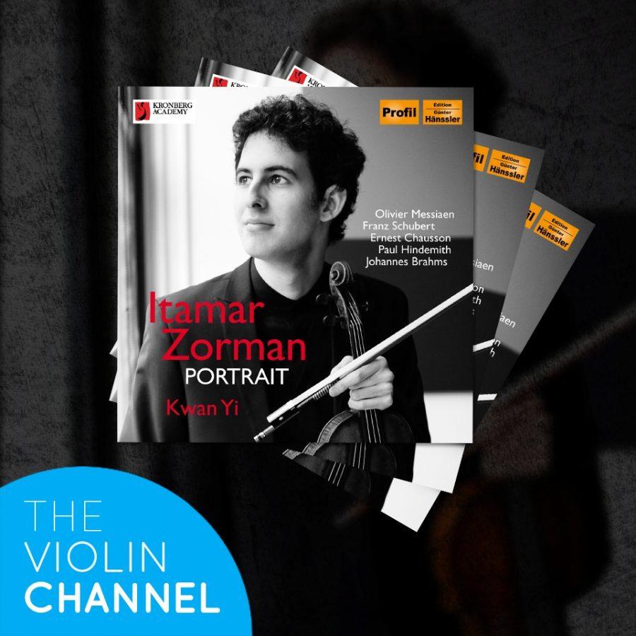 Itamar Zorman CD Giveaway Signed Portrait