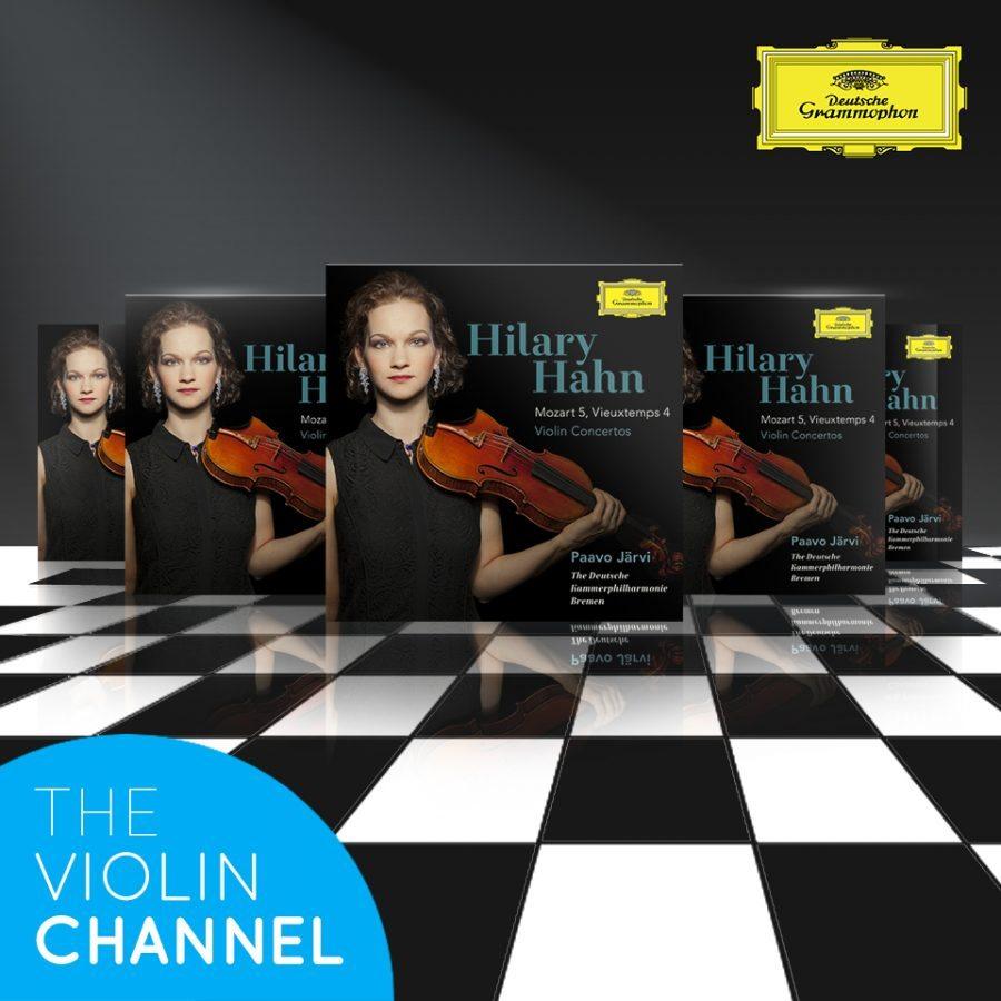 Hilary Hahn Mozart Vieuxtemps Violin Conertos