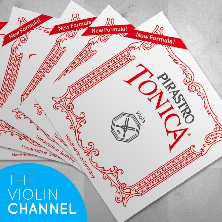 Pirastro Tonica New Formular Viola String Sets