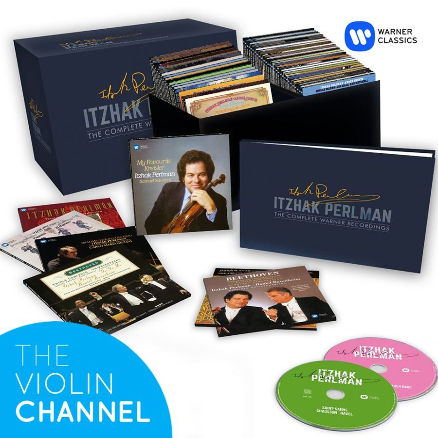 Itzhak Perlman Warner CD BoxSet Enter to Win