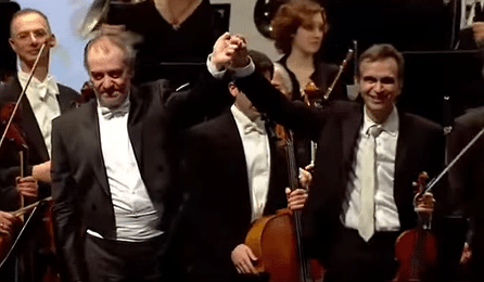 Gil Shaham Gergiev Tchaikovsky Violin Concerto Israel Cover