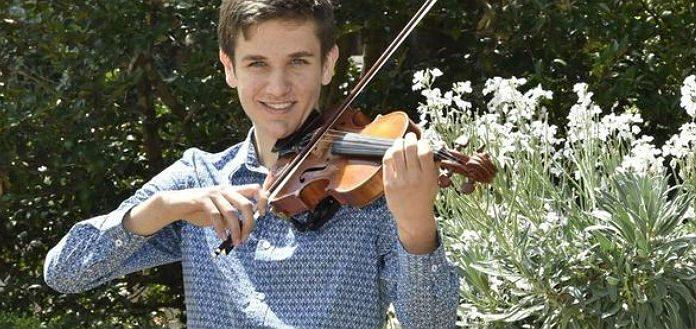 Johnny van Gend Violin Violinist Cover