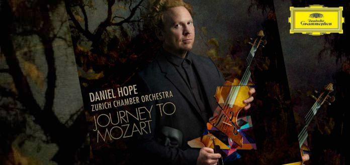 Daniel Hope Journey to Mozart Cover