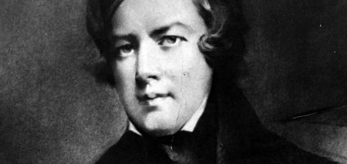 Robert Schumann Composer Cover