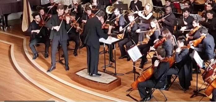 Filip Pogady Sibelius Violin Concerto Cover